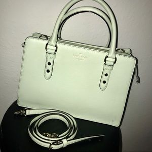 Authentic Kate Spade Mint Leather Satchel